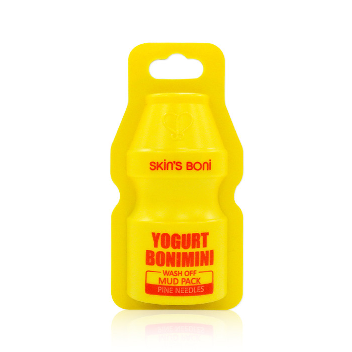 image of 韓國 Skins Boni 養樂多泥膜松針(活力亮白)   Korea Skin's Boni: Yogurt Bonimini Wash Off Mud Pack (Pine Deedles)