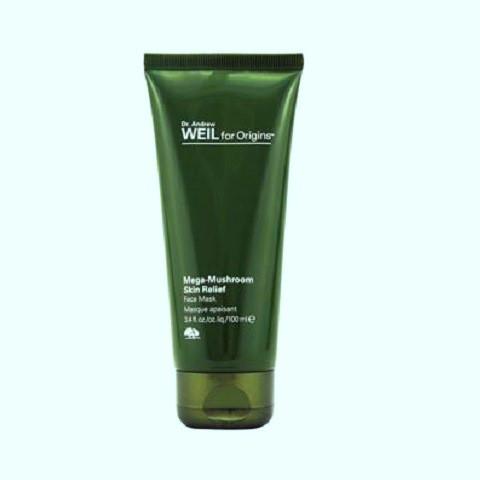 image of 美國 ORIGINS 品木宣言 Dr. WEIL 青春無敵調理面膜 100mL   United States Origins Dr. Andrew Mega-Mushroom Skin Relief Face Mask 100ml