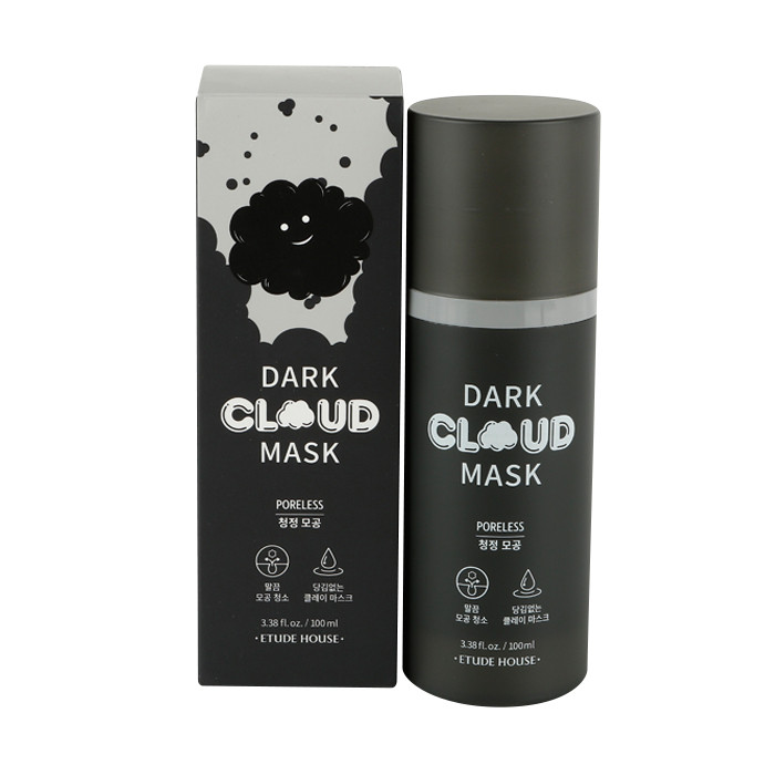 image of 韓國 ETUDE HOUSE 雲朵泡泡面膜 100ml 毛孔黑泡泡     Korea ETUDE HOUSE Dark Cloud Mask 100mL