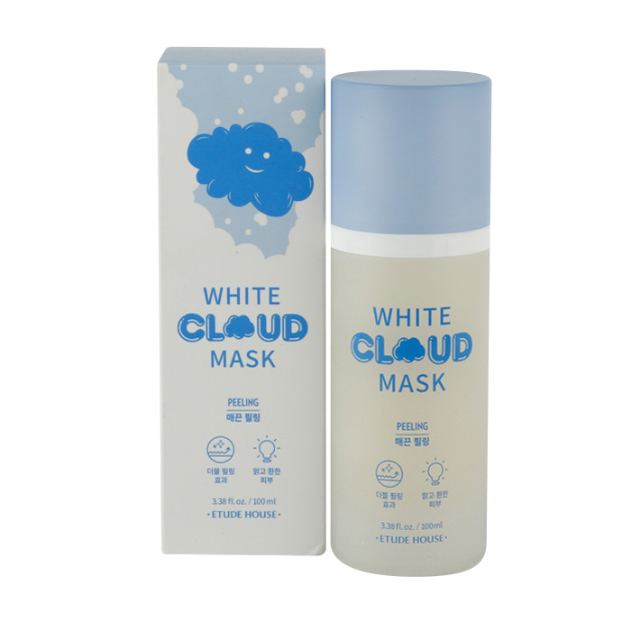 image of 韓國 ETUDE HOUSE 雲朵泡泡面膜 100ml 去角質白泡泡     Korea ETUDE HOUSE White Cloud Mask 100mL