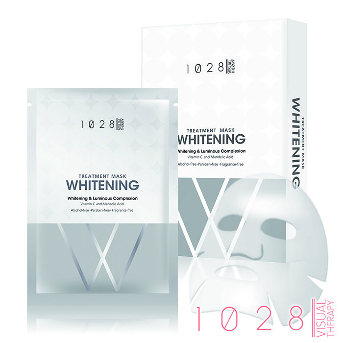 image of 1028 亮白對策 透亮面膜 23mL╳5入/盒    1028 Treatment Mask Whitening & Luminous Complexion 23mL╳5 Pcs/Pack