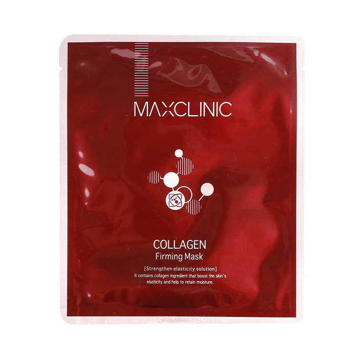 image of 韓國 MAXCLINIC 膠原提拉天絲面膜(單片)   Korea MAXCLINIC Collagen Firming Mask