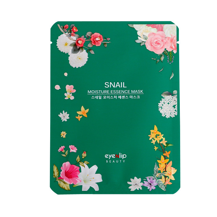 image of 韓國 Eyenlip 保濕精華面膜(單片) 蝸牛25ml   Korea Eyenlip SNAIL Moisture Essence Mask 25ml