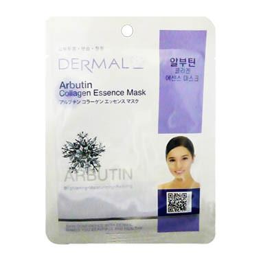 image of 韓國 DERMAL面膜 23g NO.03.熊果素菁華面膜   Korea Dermal Arbutin Collagen Essence Mask 23g