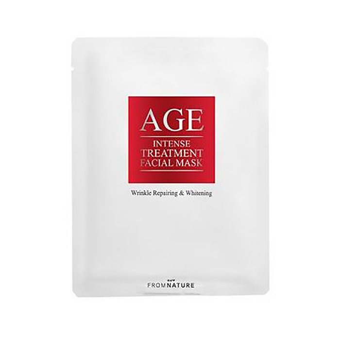 image of 韓國 FROM NATURE 逆齡提拉修護面膜(單片)   Korea FROM NATURE AGE Intense Treatment Facial Mask