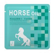 image of TT 波特嫚 炫彩天絲膜系列 馬油滋潤彈力天絲面膜 單片 30ml  TT Horse Oil Moisturizing Tencel Mask 30ml