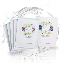 image of VIVI PAM 保濕舒敏 羽絲隱形面膜 26mL/片  VIVI PAM Moisturizing & Anti-Sensitive Viceral Mask 26mL/pcs