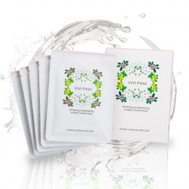 image of VIVI PAM 淨白無瑕 羽絲隱形面膜 26mL/片 VIVI PAM Whitening & Brightening Viceral Mask 26mL/pcs