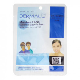 image of 韓國 DERMAL面膜 23g NO.24.男性美白緊緻面膜  Korea Dermal Moisture Facial Collagen Essence Mask 23g