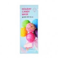 image of  韓國 Candy O Lady 繽紛糖果面膜 單片 #HOLIDAY CANDY(修護明亮)  Korea CANDY'O'LADY -Holiday Candy Mask