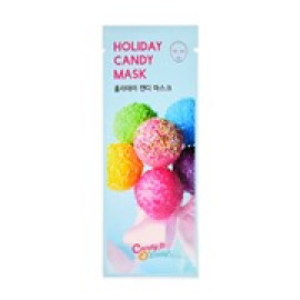 image of 韓國 Candy O Lady 繽紛糖果面膜 單片 #HOLIDAY CANDY(修護明亮)  Korea CANDY'O'LADY -Holiday Candy Mask