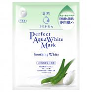 image of 專科 完美舒緩淨白面膜 25mL   SENKA Perfect Aqua White Mask Soothing Water 25mL