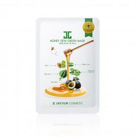image of 韓國 JAYJUN 水光蜂蜜面膜(單片) 綠蔬  Korea JAYJUN Honey Dew Green Mask