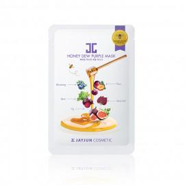 image of 韓國 JAYJUN 水光蜂蜜面膜(單片) 紫莓   Korea JAYJUN Honey Dew Purple Mask