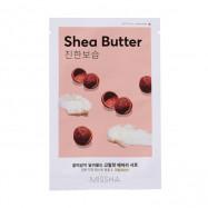 image of 韓國 MISSHA 空氣感親膚面膜 19g 乳木果  Korea MISSHA Airy Fit Sheet Mask (Shea Butter) 19g