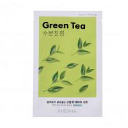 image of 韓國 MISSHA 空氣感親膚面膜 19g 綠茶  Korea MISSHA Airy Fit Sheet Mask (Green Tea)19g
