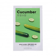 image of 韓國 MISSHA 空氣感親膚面膜 19g 小黃瓜  Korea MISSHA Airy Fit Sheet Mask (Cucumber) 19g