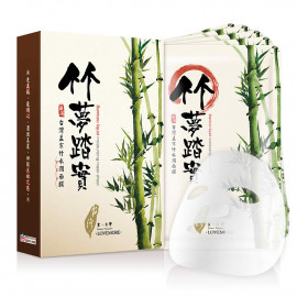 image of LoveMore 豐台灣 面膜 28mLX5/盒 孟宗竹水潤 LOVEMORE - Bamboo Liquid Moisturizing Mask 28mLX5/box