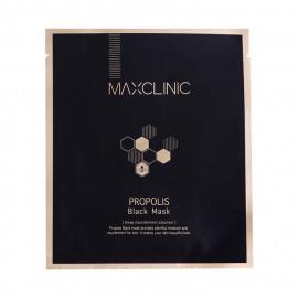 image of 韓國 MAXCLINIC 蜂膠滋養黑面膜(單片)  Korea MAXCLINIC Propolis Black Mask (Deep Nourishment Solution)