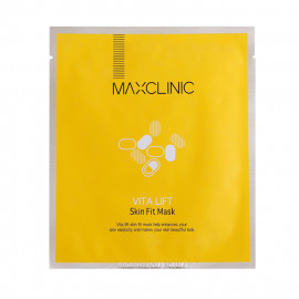 image of 韓國 MAXCLINIC 活力提亮天絲面膜(單片) Korea MAXCLINIC Vita Lift Skinfit Mask