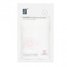 image of TT 波特嫚 白天絲系列 山茶花勻亮天絲面膜 (5片入)  TT KOTEMEIN Camellia Skin Brightening Tencel Facial Mask (5pcs)