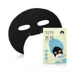 韓國 Apieu 半面黑面膜  Korea Apieu CHI KA PO KA Tooth Brushing Mask