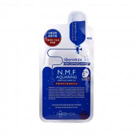 image of 韓國 MEDIHEAL 高效保濕水庫面膜(單片)   Korea MEDIHEAL N.M.F Aquaring Ampolue Mask EX.