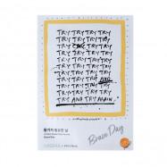 image of 韓國 MISSHA x KELLY PARK 我的物語面膜 Brave Day(平衡)23ml  Korea MISSHA x KELLY PARK Brave Day Mask 23ml