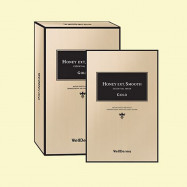 image of 韓國 WellDerma 夢蝸 蜂蜜金箔面膜(10片入)  Korea WellDerma Honey Ext Smooth Essential Mask-Gold (10pcs)