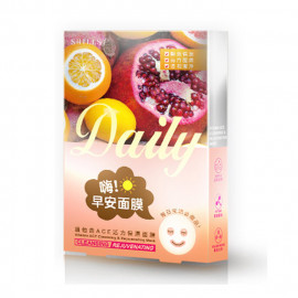 image of SHILLS水鑰之肌生活面膜系列 早安維他命ACE  SHILLS Vitamin ACE Cleansing & Rejuvenating Mask