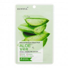 image of 韓國 EUNYUL 面膜(10入/包) 蘆薈保濕   Korea EUNYUL Natural Moisture Mask Pack (10pcs/box) ALOE