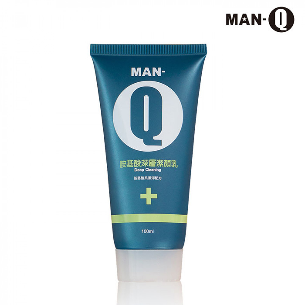 MAN-Q 胺基酸潔顏乳 深層100ml   MAN-Q Facial Cleanser 100ml