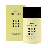 image of 泰國 Mistine 空氣粉底液 20mL #.01 象牙白   Thailand Mistine Air Light Liquid to Powder Foundation (F1 Light)