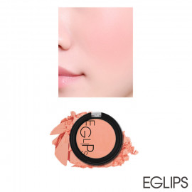 image of 韓國 Eglips 亮彩粉嫩肌潤色腮紅 4g #.03 SWEET PEACH   Korea EGLIPS Apple Fit Blusher  4g #.03 SWEET PEACH