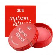 image of 韓國 3CE (3CONCEPT EYES) x Maison Kitsune小狐狸 聯名彩妝 修容腮紅餅 9g #.GINGER PINK  Korea 3CE (3CONCEPT EYES) x Maison Kitsune 9g #.GINGER PINK