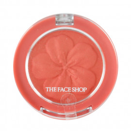 image of 韓國 The Face Shop 花瓣立體腮紅 3.8g 05珊瑚紅   Korea The Face Shop Blush Pop Blusher 3.8g #.05 Coral Pop