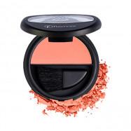 image of 法國 Flormar 快感潮紅迷幻腮紅 6g #.002 珊瑚粉   France Flormar Satin Matte Blush On 6g # 002 Coral Peach