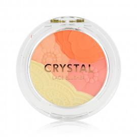 image of 韓國 TONYMOLY 水晶花邊腮紅02 5g  Korea TONYMOLY - Crystal Lace Blusher #02 Daisy Coral 5g