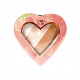 image of Sivanna HF-8102 美人心姬蜜桃腮紅 12g #01啡比尋嫦   Sivanna Colors HF-8102 Sweet Peach Blush 12g #01