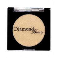 image of 日本 Diamond Puff Blush 鑽石馬卡龍腮紅餅 No.4閃耀金   Japan Diamond Beauty Blush Cheek Gold Jewelry