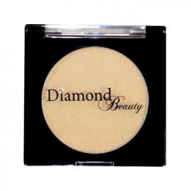 image of 日本 Diamond Puff Blush 鑽石馬卡龍腮紅餅 No.4閃耀金   Japan Diamond Beauty Blush Cheek Gold Jewelry