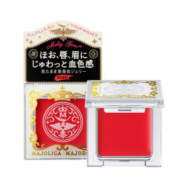 image of 日本 SHISEIDO 資生堂 MAJOLICA MAJORCA 戀愛魔鏡 凝光寶石 1.5g #.RD410    Japan Shiseido Majolica Majorca melty Gem 1.5g #.RD410