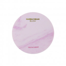 image of 韓國 The Face Shop 大理石紋腮紅/打亮 7g #.3紫色   Korea THE FACE SHOP MARBLE BEAM BLUSH & HIGHLIGHTER   7g #.3 Love Purple