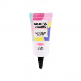 image of 韓國 ETUDE HOUSE 彩色素描春季限定水感腮紅RD301 10g   Korea ETUDE HOUSE COLORFUL DRAWING - Water Color Blusher #RD301 10g