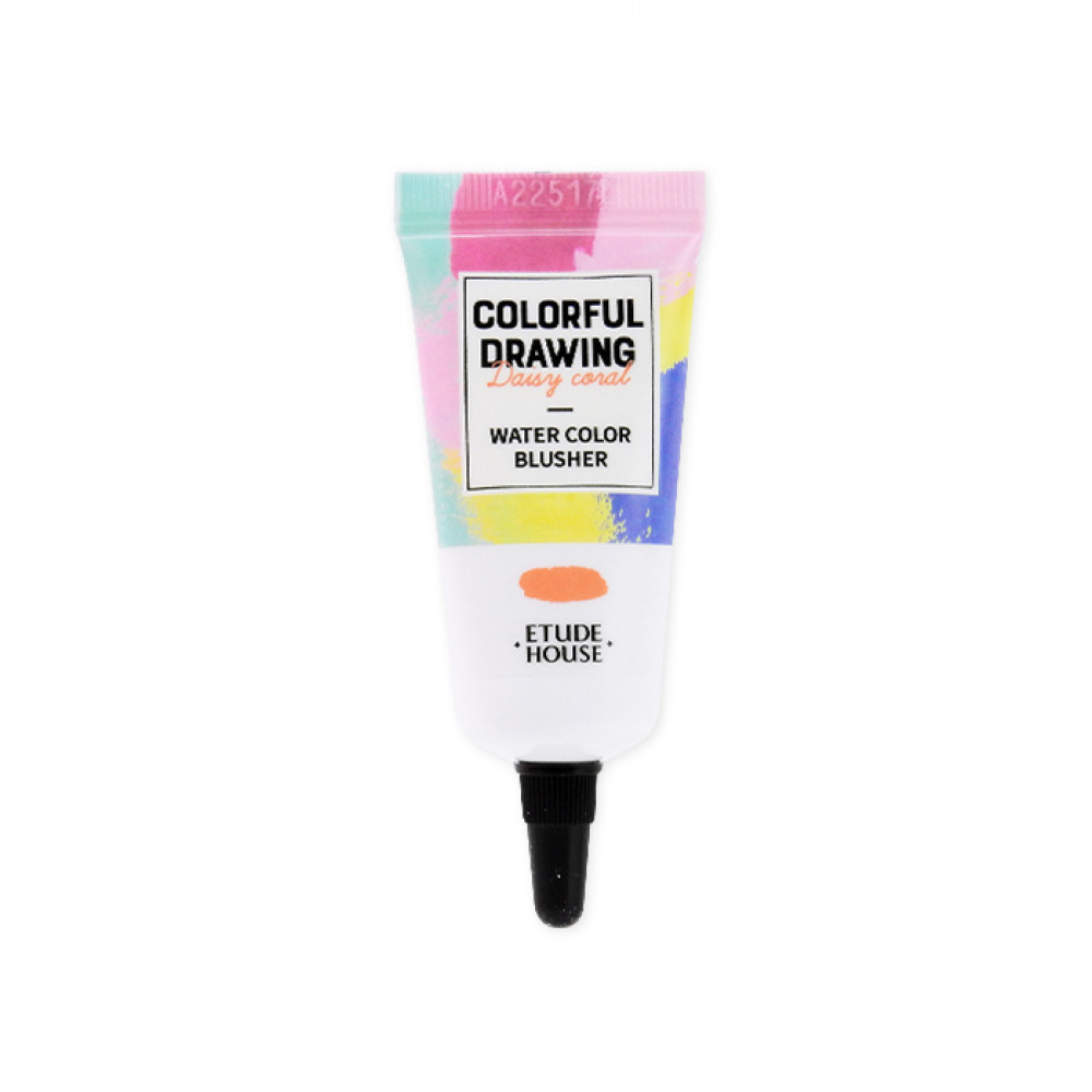 韓國 ETUDE HOUSE 彩色素描春季限定水感腮紅PK001 10g  Korea ETUDE HOUSE COLORFUL DRAWING - Water Color Blusher #PK001 10g