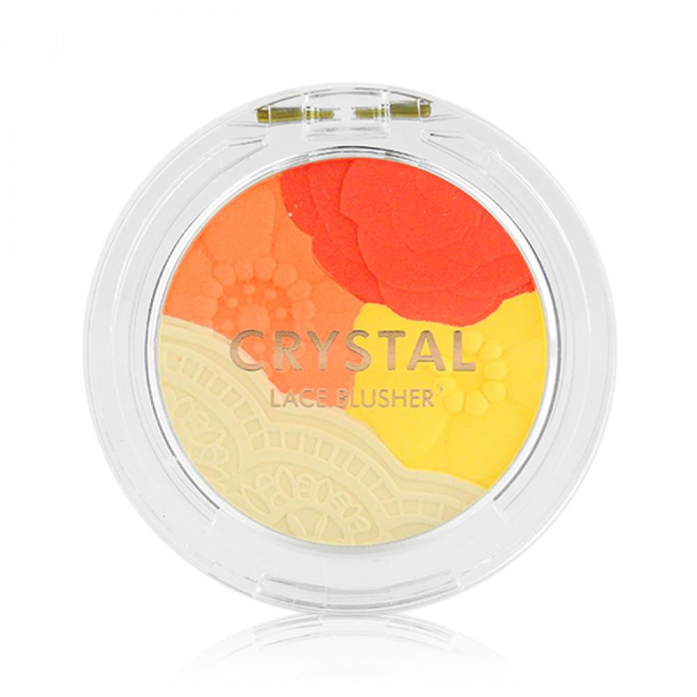 韓國 TONYMOLY 水晶花邊腮紅03 5g  Korea TONYMOLY - Crystal Lace Blusher #03 Camellia Red 5g
