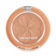 image of 韓國 The Face Shop 花瓣立體腮紅 3.8g 03杏桃膚   Korea The Face Shop Blush Pop Blusher 3.8g #.03 Nudie Pop