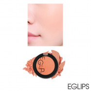 image of 韓國 Eglips 亮彩粉嫩肌潤色腮紅 4g #.04 TANGERINE CORAL  Korea EGLIPS Apple Fit Blusher 4g #.04 TANGERINE CORAL
