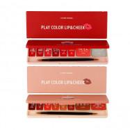 image of 韓國 ETUDE HOUSE 唇頰彩調色盤 兩款可選  Korea ETUDE HOUSE  Play Color Lip & Cheek