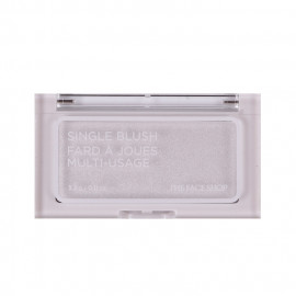 image of 韓國 the face shop 立體單色腮紅 3.3g WH01 3.3g   Korea the face shop Single Blush Fard A Joues Multi-Usage #WH01 3.3g